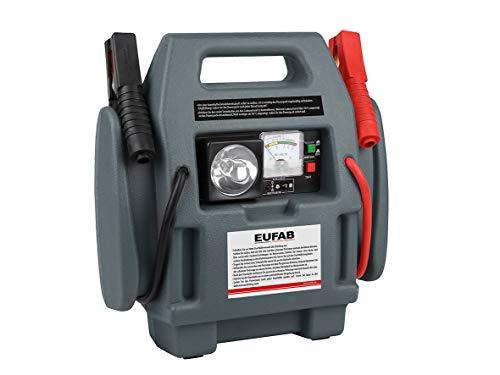 EUFAB 16643 Powerpack mit Kompressor 7Ah