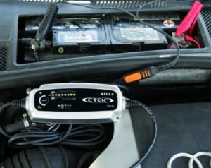 CTEK MXS 5.0 Autobatterie-Ladegerät mit automatischem Temperaturausgleich, 12 V -