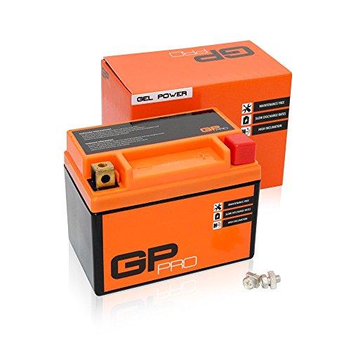 Batterie 12V 5Ah Gel GP-Pro (TYP - GTX4L-BS / ähnlich YTX4L-BS) (versiegelt / wartungsfrei) -