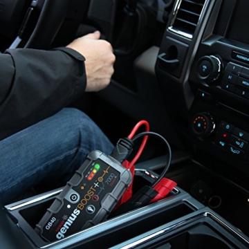 NOCO Genius Boost Plus 1.000A ultra-sicheres 12V-Lithium-Starthilfegerät -